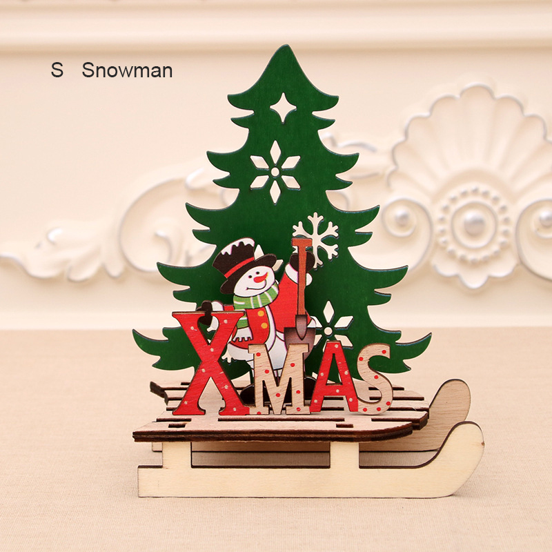 Wooden Christmas Decorations.Details About Diy Wooden Christmas Santa S Sleigh Tree Reindeer Xmas Decoration