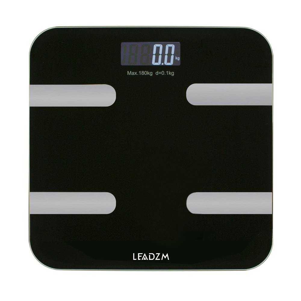 Details About Bathroom Scales Electronic Weight Scale Smart Body Fat Bones  BMI Digital Fitness