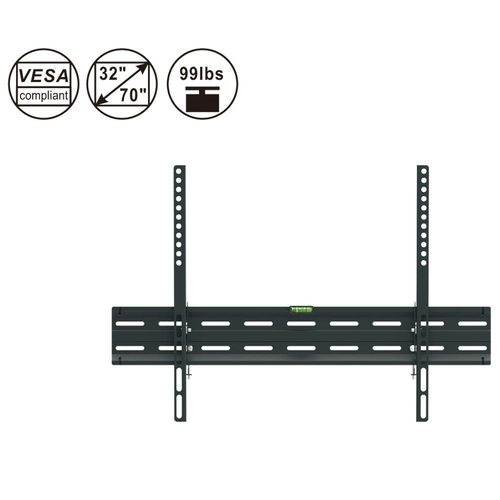 Full Motion TV WALL MOUNT BRACKET 10 22 32 40 42 46 50 55 60 65 70 Fixed //Tilt