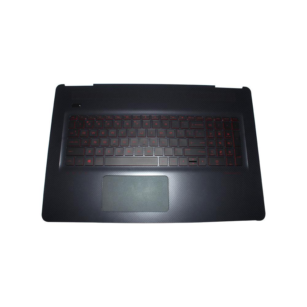 Genuine HP Omen 17-W Laptop Palmrest Keyboard & Touchpad