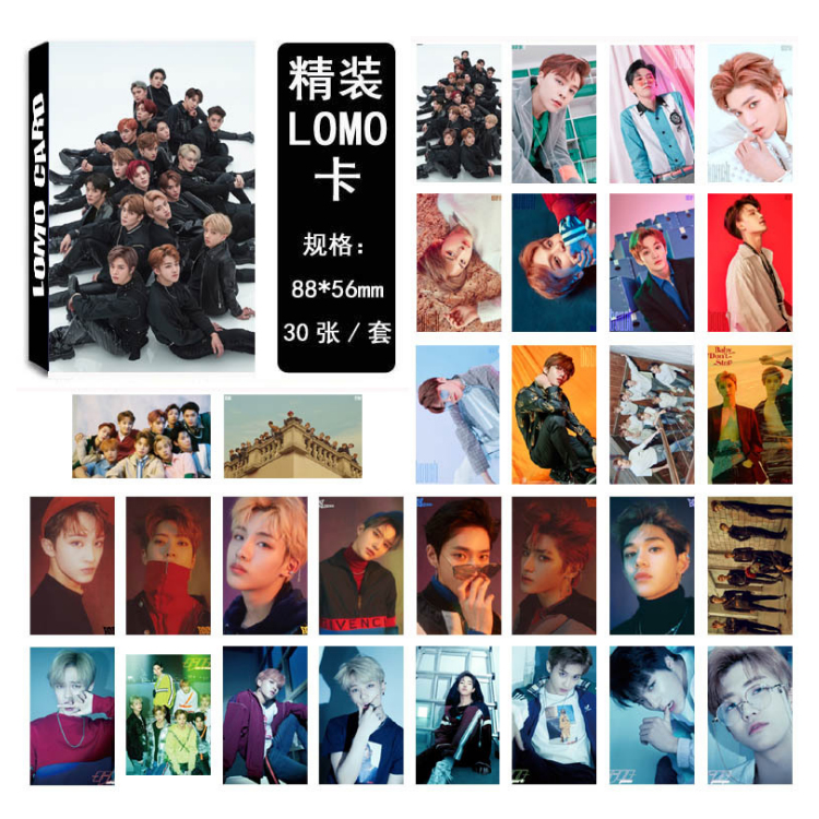 Details about 30pcs /set KPOP NCT127 NCT U Photo Card Poster Lomo Cards