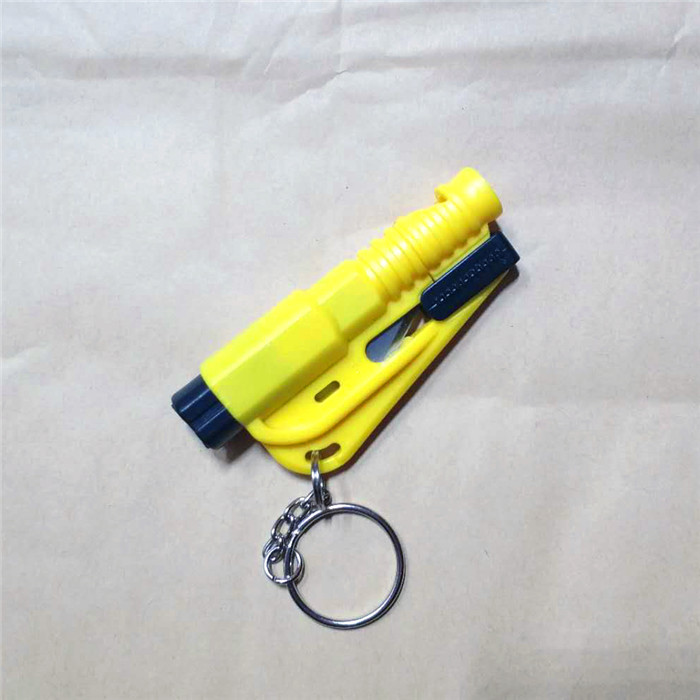 Emergency-Safety-Hammer-seat-belt-Cutter-Window-Breaker-Escape-Car-tool-Keychain