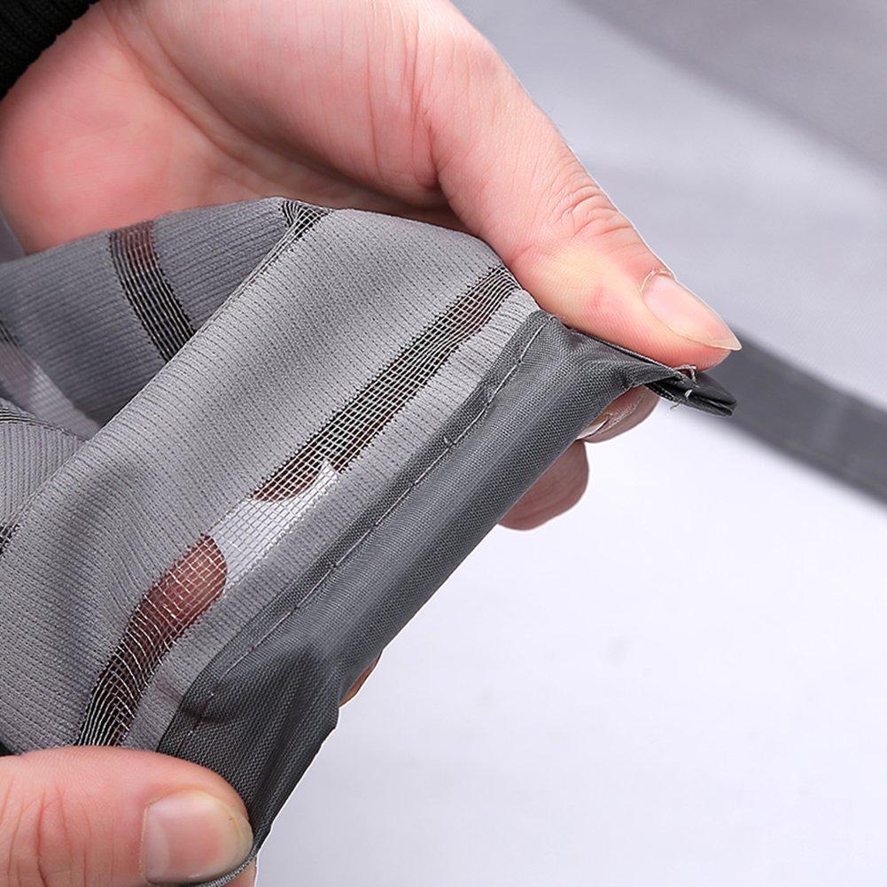 magnet fliegengitter tür insektenschutz moskitonetz vorhang