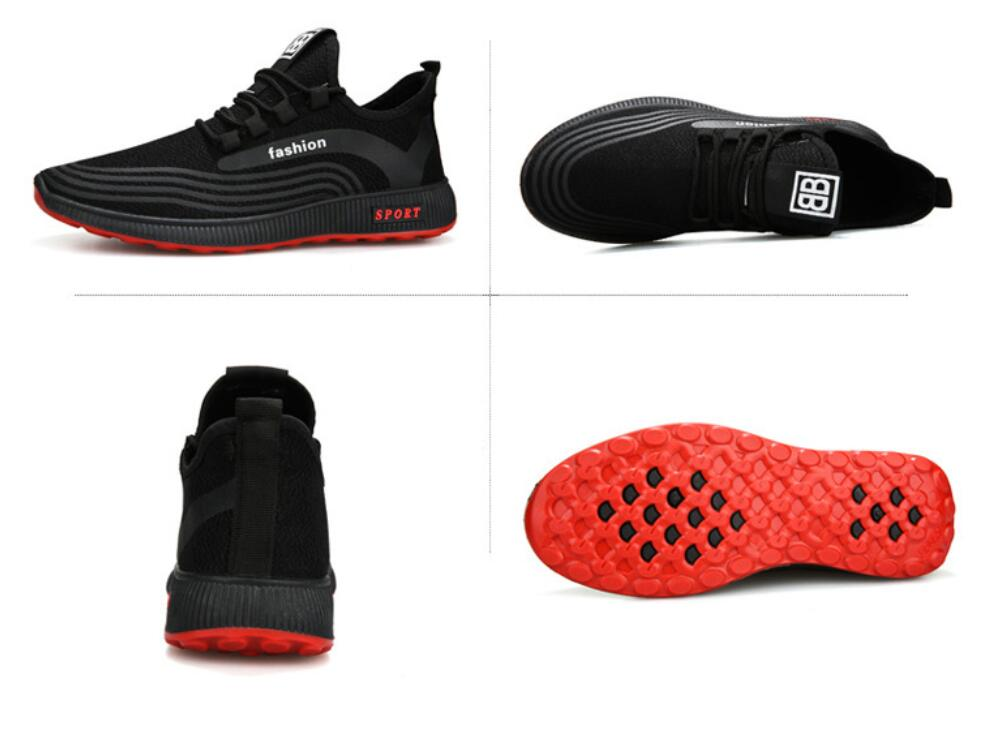 Men-039-s-Athletic-Running-Breathable-Shoes-Sports-Casual-Walking-Jogging-Sneakers thumbnail 20
