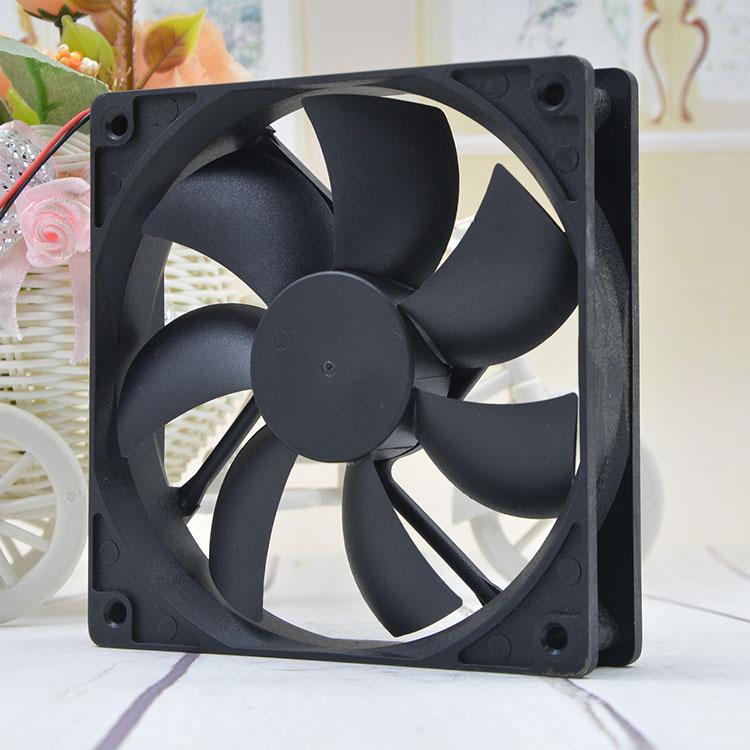 1pc RUILIAN RDH1225S fan DC24V 0.35A 2pin 120*120*25mm #XX