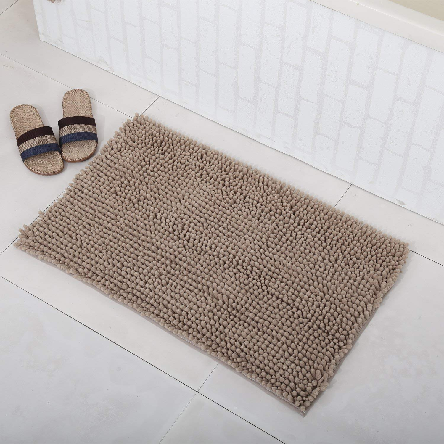 Non Slip Microfiber Bath Mat Bathroom Rugs For Floors Tub