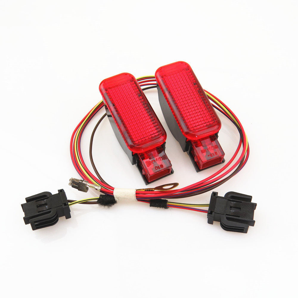 Details about Interior Red Warning Light Door Panel & Cable For Audi A3 S3  A6 S6 A4 S4 A7 A8