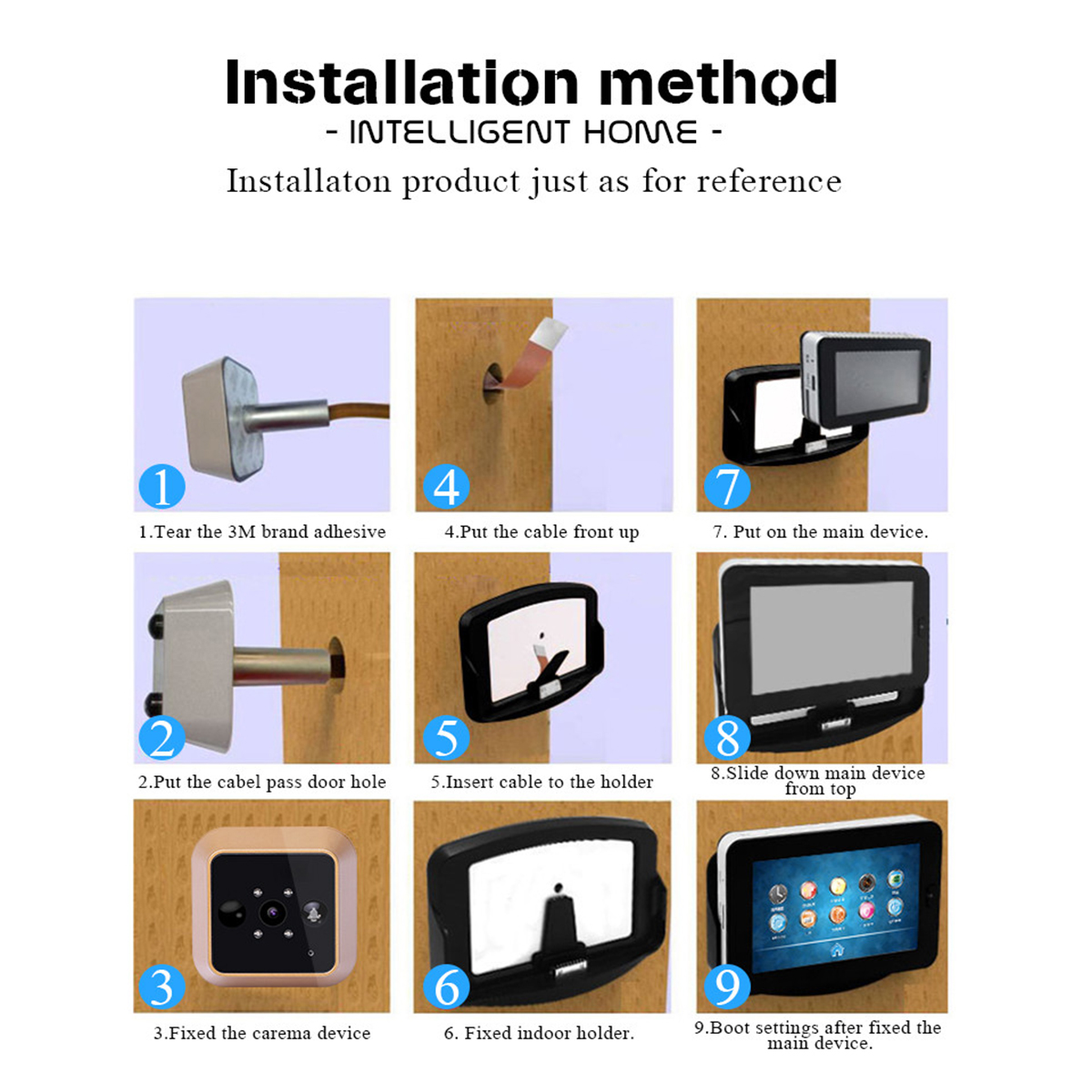 wifi camera door peephole android pin iphone wireless recording video eye doors motion sharp detect for phone