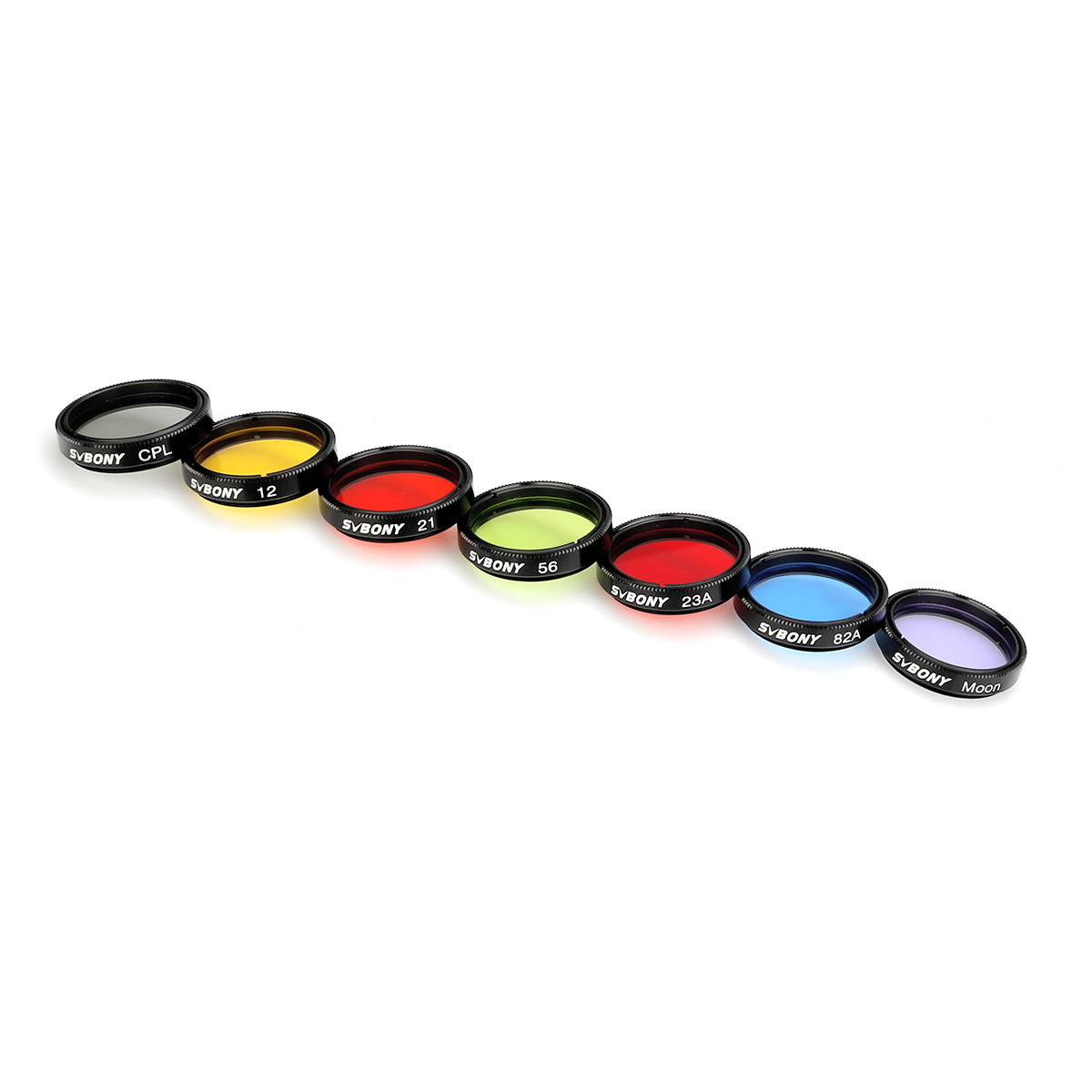 Neewer 1.25 inches Telescope Moon Filter CPL Filter 5 Color Filters Kit