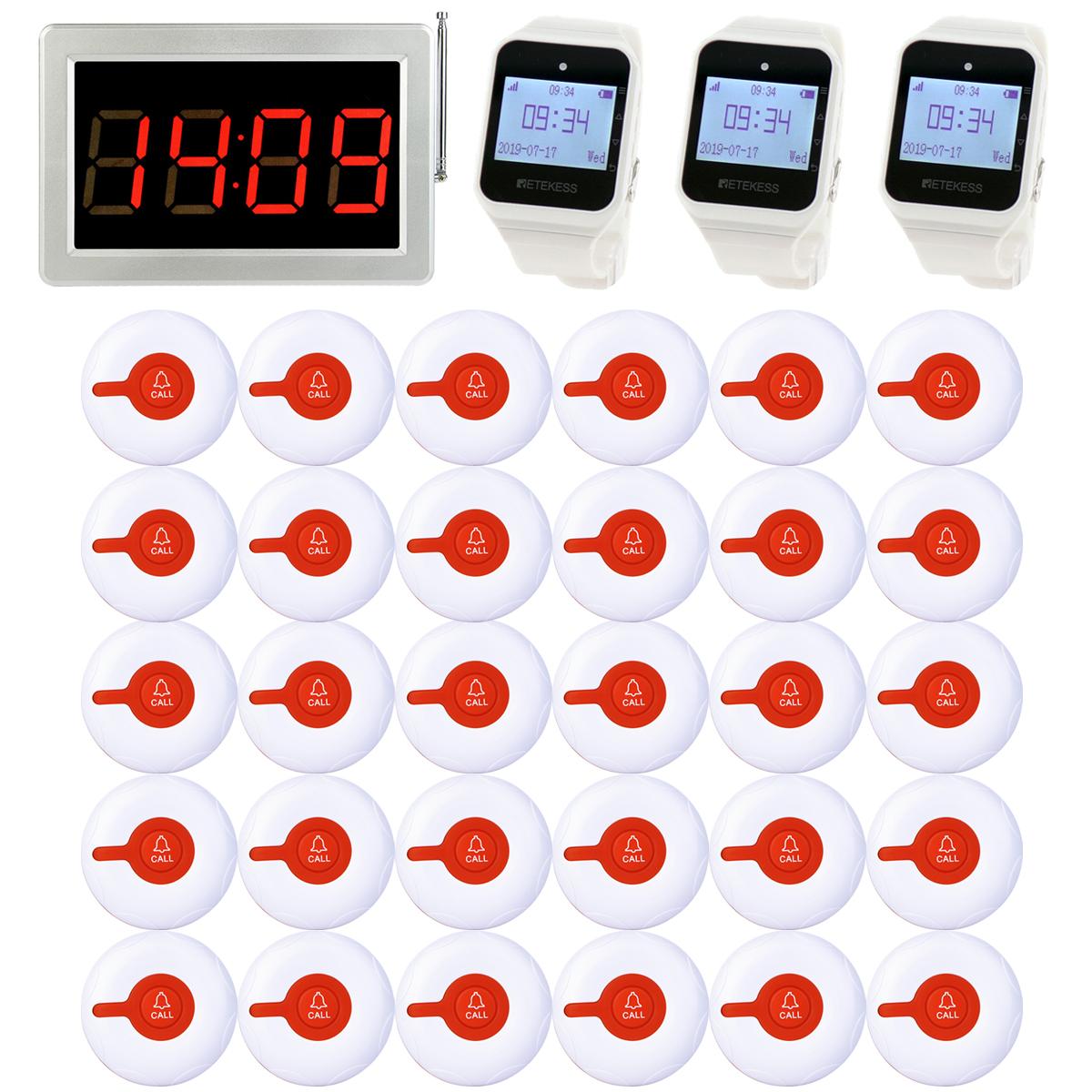 Restaurant Server Paging System Host Receiver LED Display+
