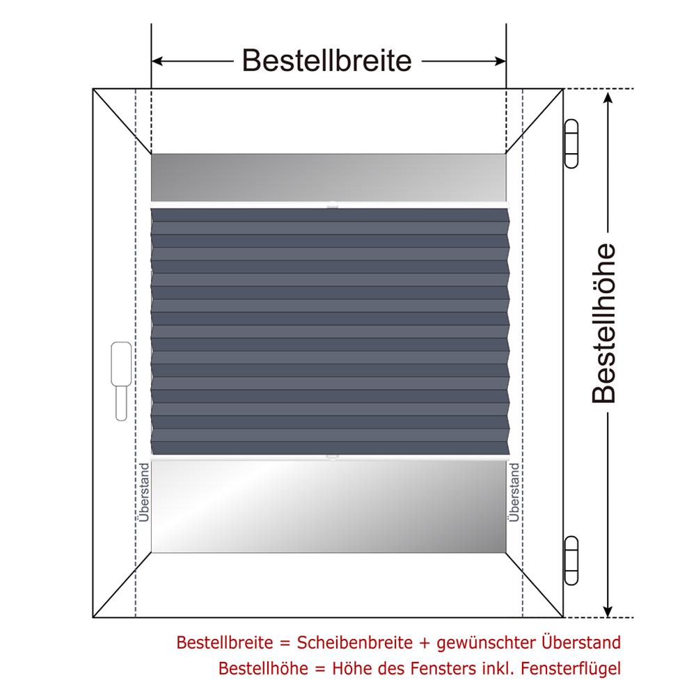 plissee klemmfix verdunkelung jalousie ohne bohren verspannt faltrollo thermo ebay. Black Bedroom Furniture Sets. Home Design Ideas