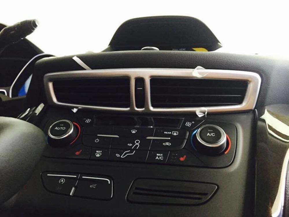 For Ford Escape 2017-2019 Interior Center Console Air Vent Outlet Cover Trim
