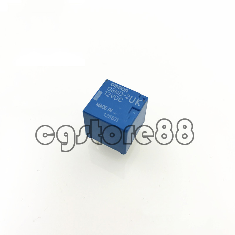 5 New Genuine for Omron G8ND-2UK 12VDC Relay G8ND2UK12VDC for Renault BMW X5//X6