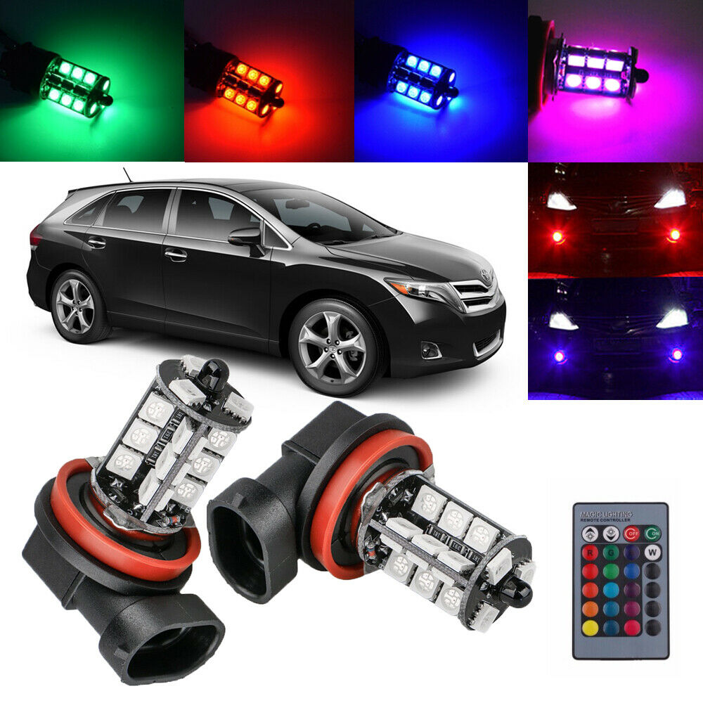 For Toyota Venza 2009-2016 2x Wireless IR Remote Multi