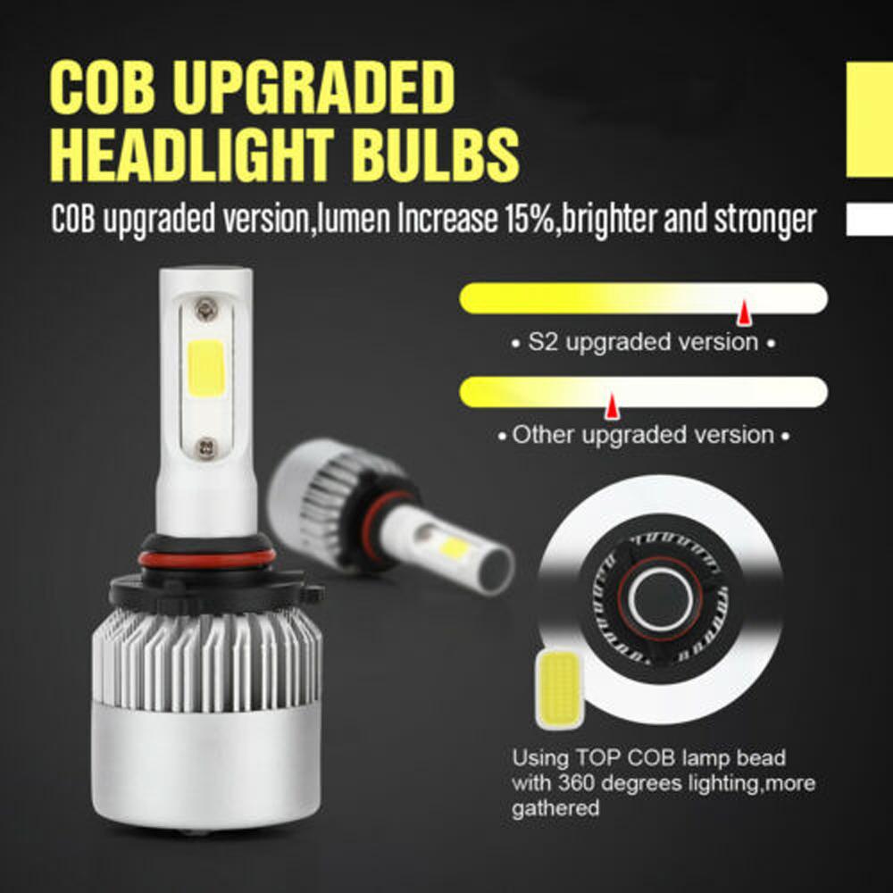 2Pcs HB4 9006 White 48W LED Fog Light Bulbs For Acura TL