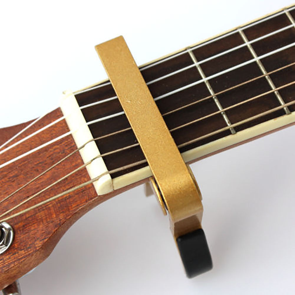 advanced guitar capo quick change tune clamp acoustic electric classic guitar on ebay. Black Bedroom Furniture Sets. Home Design Ideas