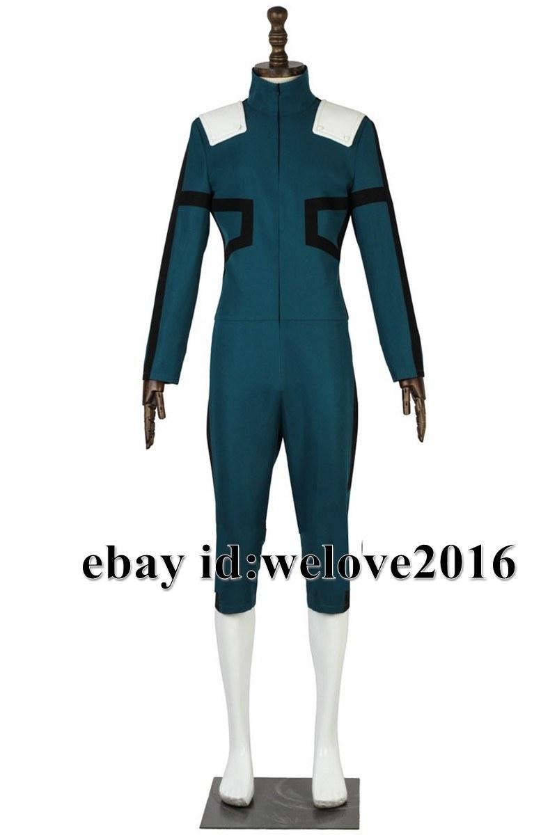 Custom Made My Hero Academia midoriya izuku deku bataille Cosplay Costume Combinaison