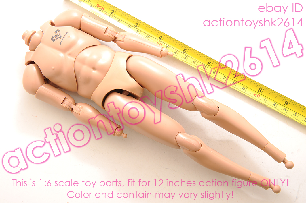 Gangsters Heart 3 Bartley Damtoys Action Figures Nude Body 1//6 Scale