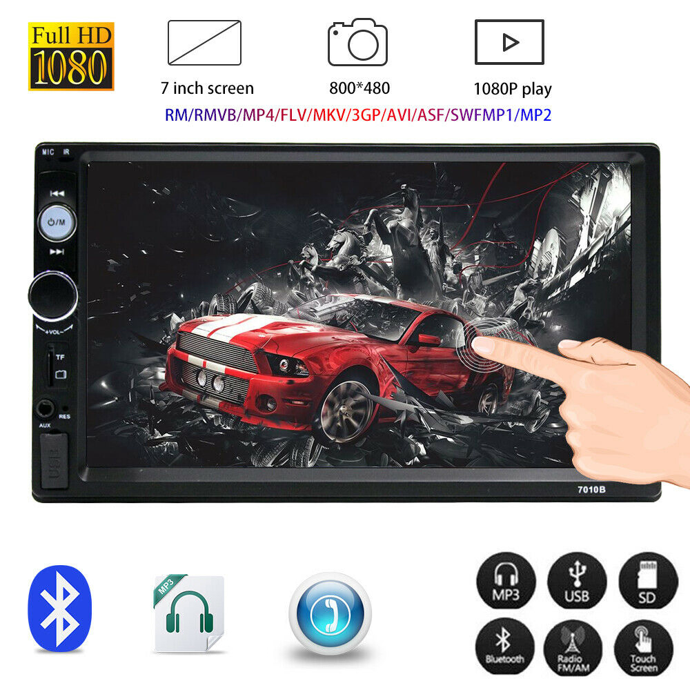 NEW 7 Inch Double 2DIN Car FM Stereo Radio USB/MP5 Player