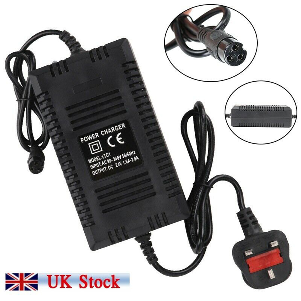 Battery Charger 24V Electric Scooter Balance Car For Razor ...