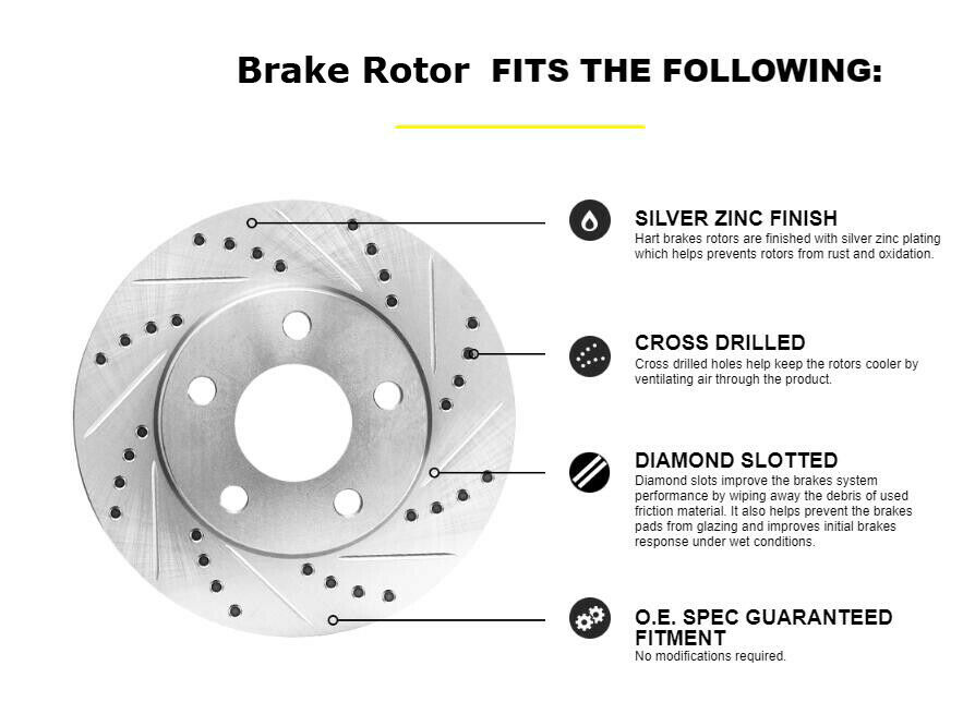 For 1998 Ford Ranger Hart Brakes Front Super Duty Brake Pads