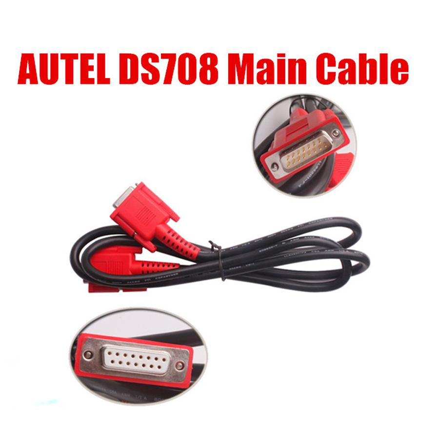 100/% New Main Data Cable Testing Wire For Autel MaxiDAS DS708 Scanner Tool