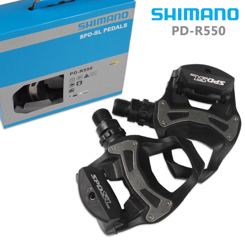 6° Float Cleats Black Road Bike Shimano PD R550 SPD SL Clipless Road Pedals
