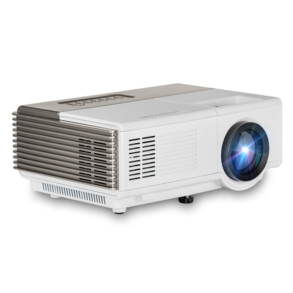 Caiwei Digital Led Projector Home Theater Beamer Lcd: CAIWEI A3 Mini Portable LED Projector Home Theater Movie