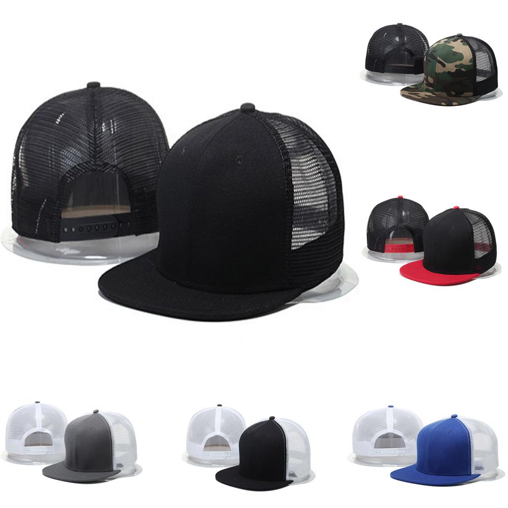 1218515677b Details about Men Women Baseball Cap Mesh Trucker Hunting Military Army  Camo Snapback Hat Cool