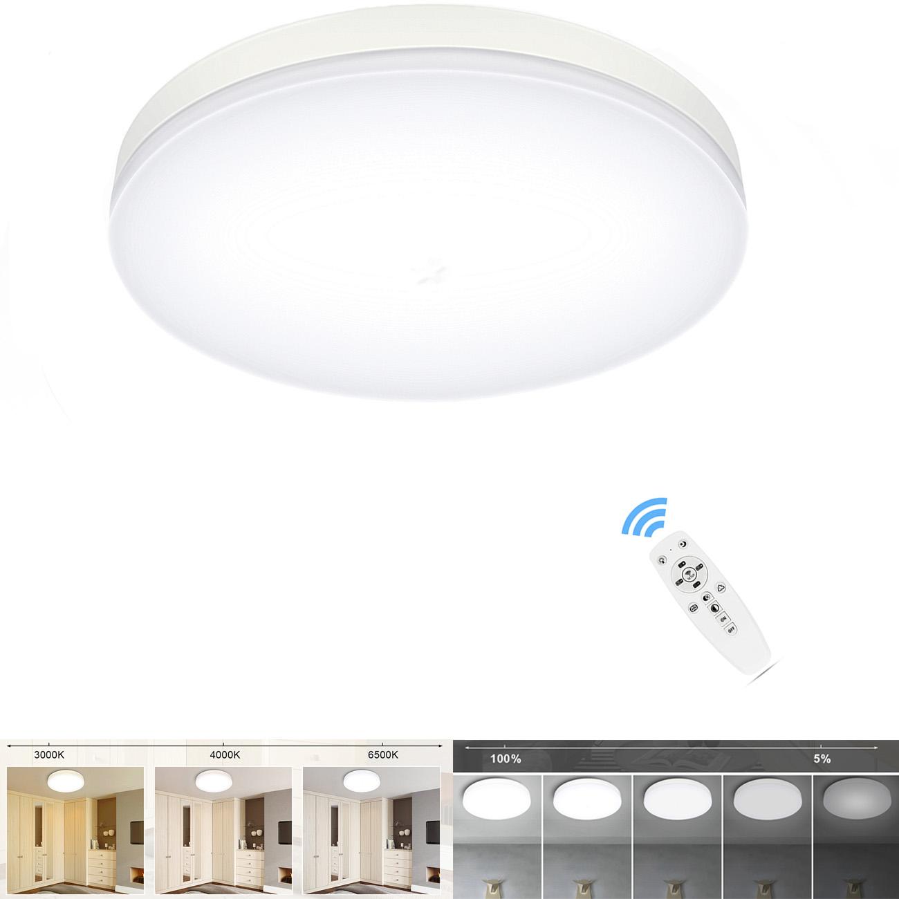 dimmbar RGB LED Farbwechsel Leuchte Design Effekt Kinder Wohn Flur Zimmer Lampe