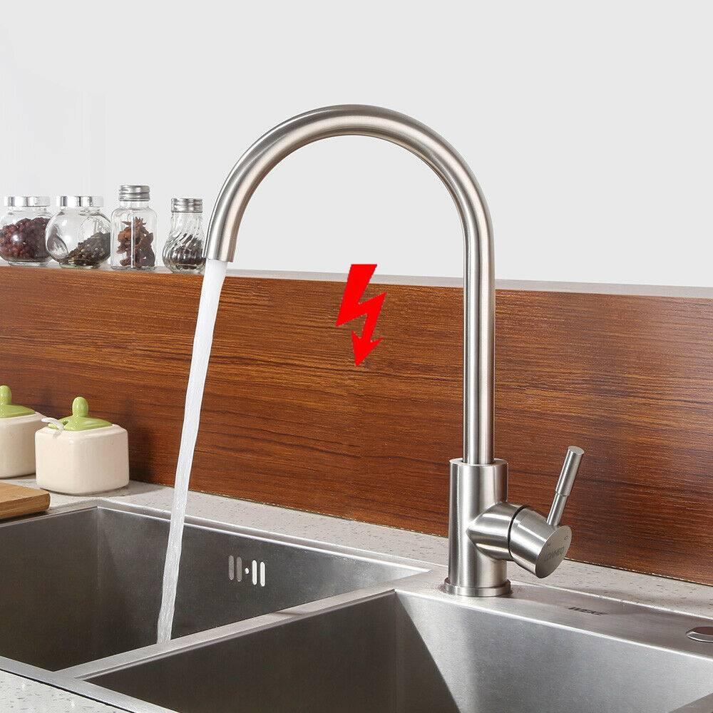 360° Küchenarmatur Niederdruck Spültisch Einhebelmischer Armatur Küche Spüle DHL