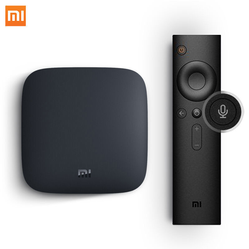 Details about Xiaomi box 3S international version of smart media set-top  box Android TV 4K 8G
