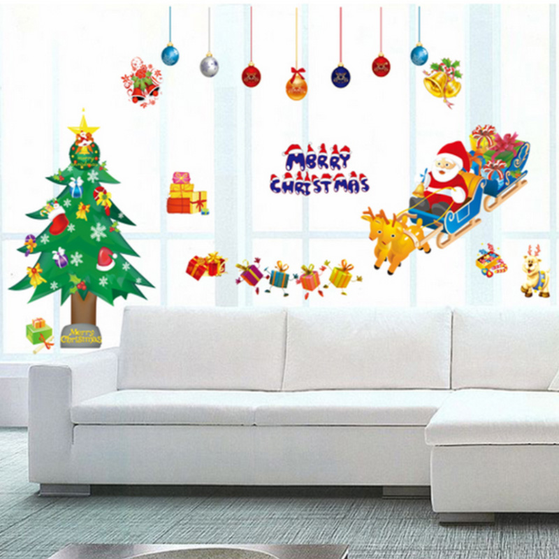 White Snow Frozen Decal Wall Sticker Vinyl Art Christmas Window Decals  Decor UK Part 44