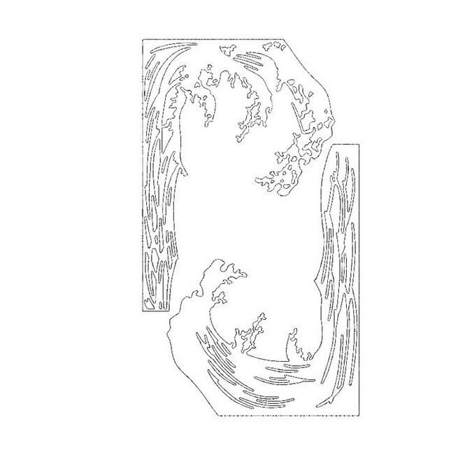 Flasche Stencils Cutting Dies Scrapbooking Karte Tagebuch Stanzschablone Neu