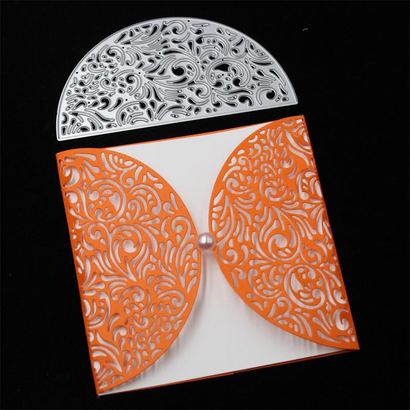 Details About Invitation Card Lace Border Metal Cutting Dies Scrapbooking Card Making Diy
