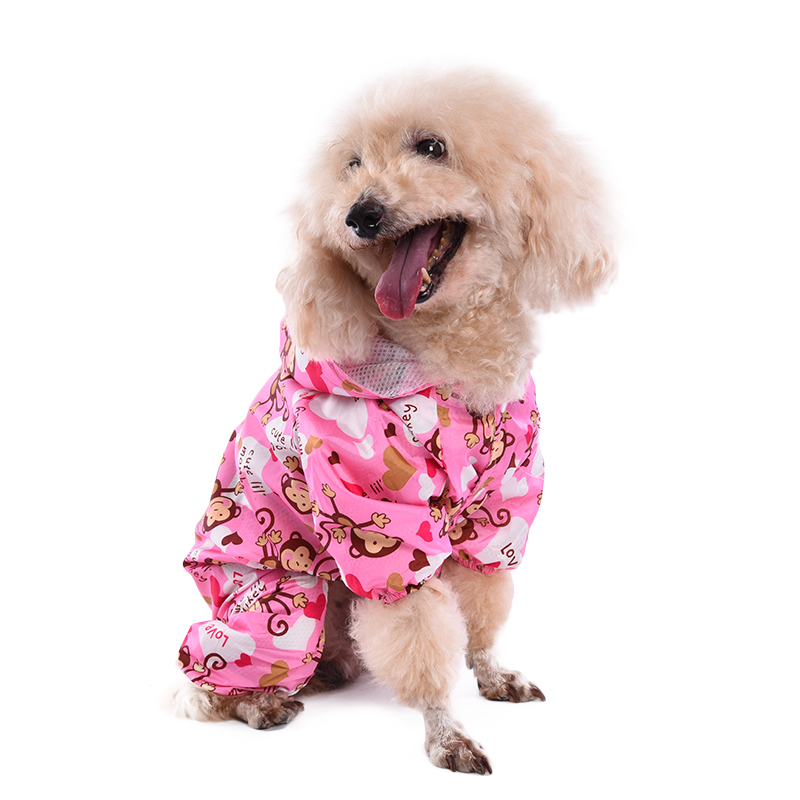 Pet-Dog-Puppy-Hooded-Hoodie-Raincoat-Jumpsuit-Jacket-Casual-Waterproof-Clothes
