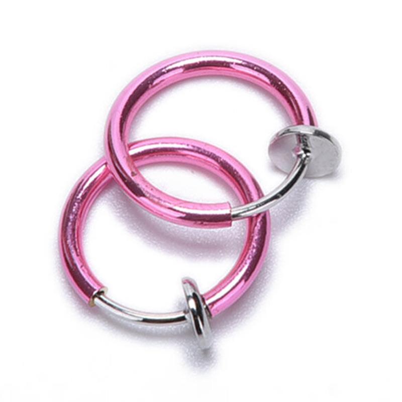 Unisex-Punk-Rock-Nose-Ring-Ear-Clip-Cuff-Wrap-No-piercing-Clip-Earring-Jewelry