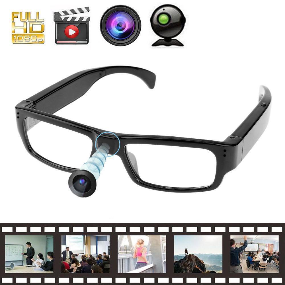 dd697e2bf14 Mini Glasses Spy Camera HD 1080P Hidden Covert Eyewear Cam Video Recorder  DV DVR