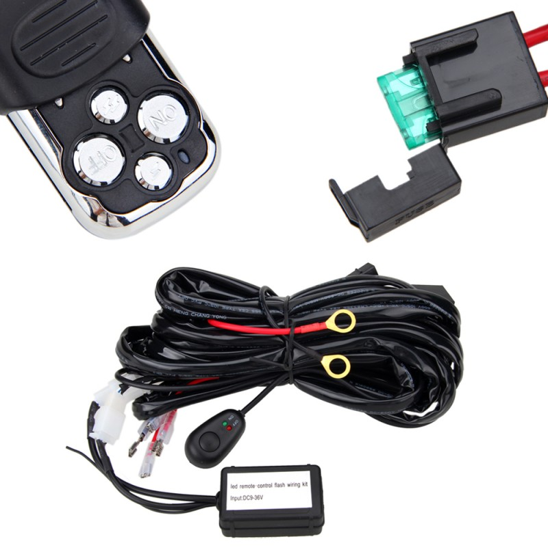 Off Road Lights Wiring Harness Multiple on