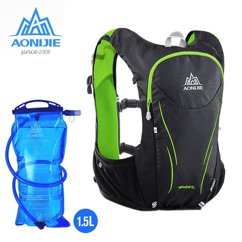 5l Outdoor Hiking Water Bladder Bag Backpack Hydration