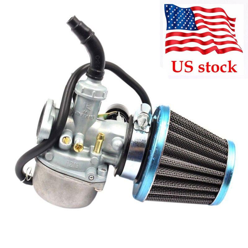 Kandi Carburetor Carb with air filter for 250cc Kandi ATV QUAD Cable choke