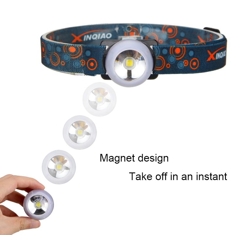 Mini T6 LED Warning USB BALL BICYCLE REAR LIGHT Work lamp Headlamp Head Torch