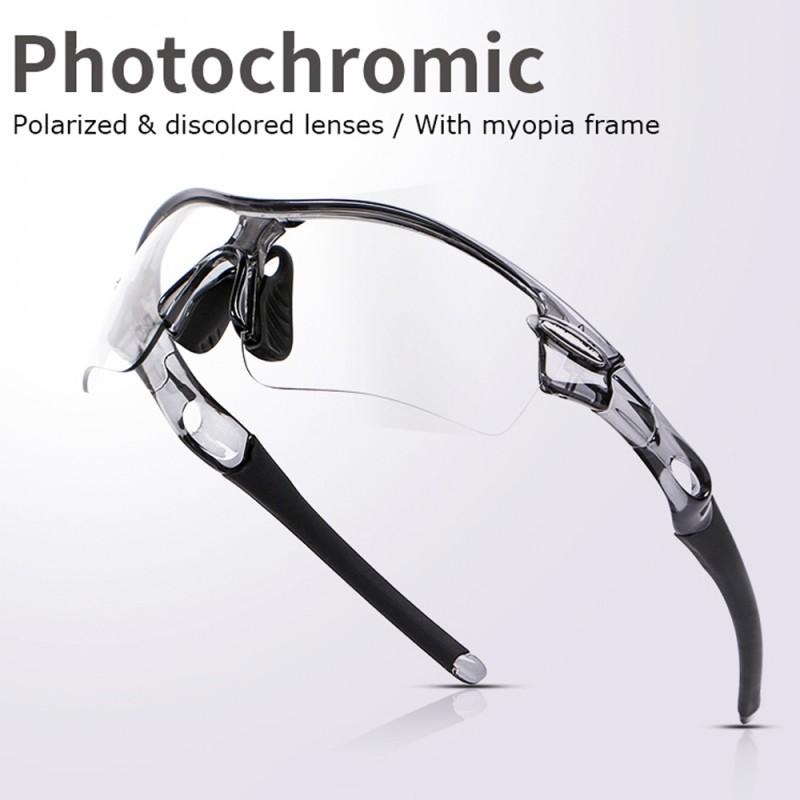 Sonnenbrille Photochromic Polarisiert Verspiegelt Anti-Uv Sport Sportbrille n7HlUNAhq