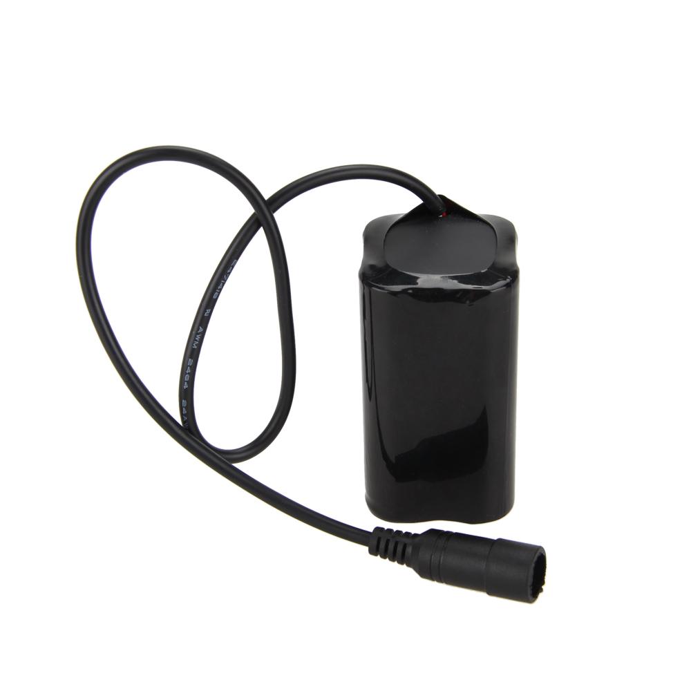 2pcs 16000mAh 8.4v batterie rechargeable protection Pack For phare//lumières vélo