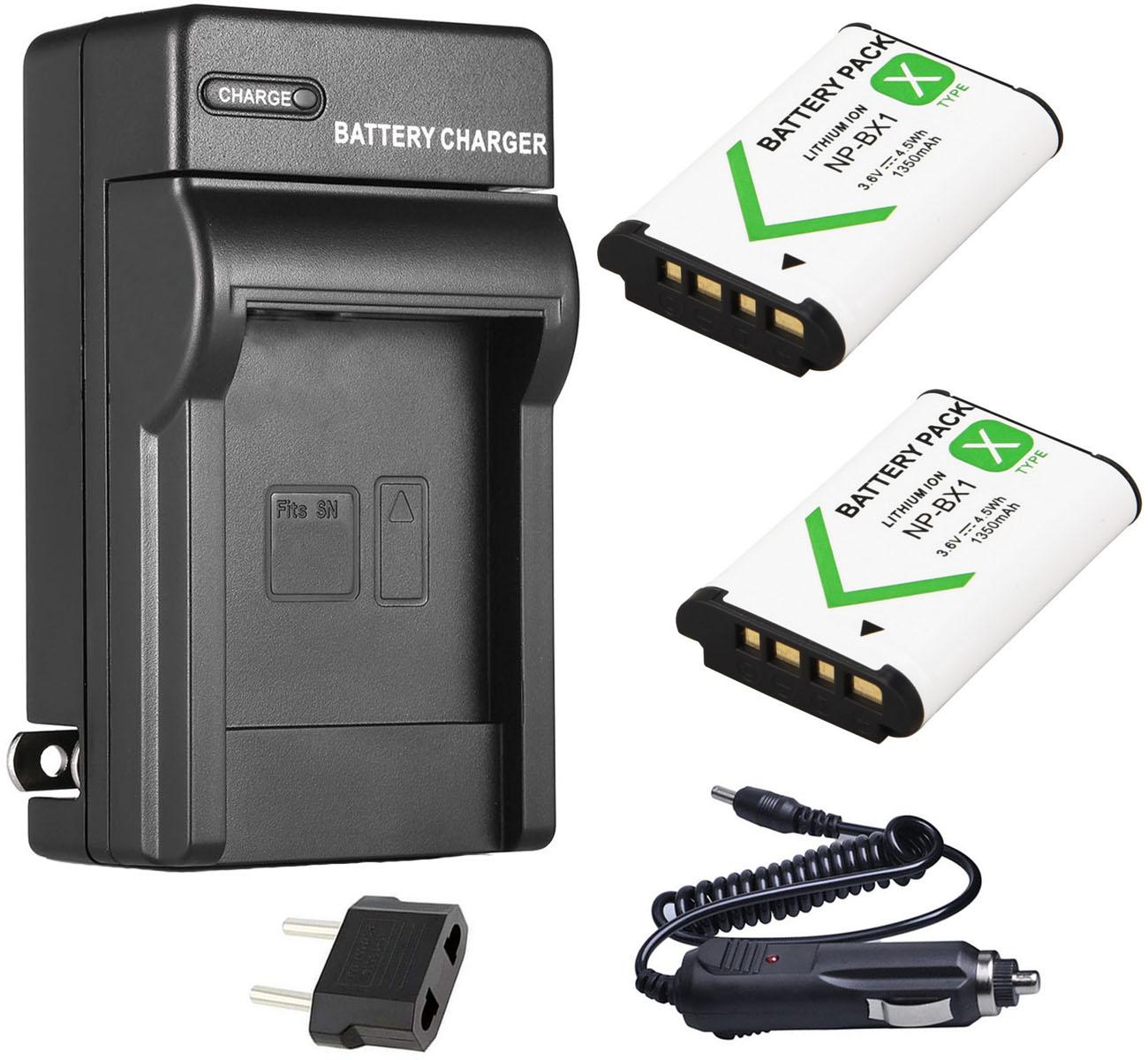 NP-BX1 Batería Cargador para SONY DSC-RX100 I II III IV V DSC-HX400V HDR-CX405//B
