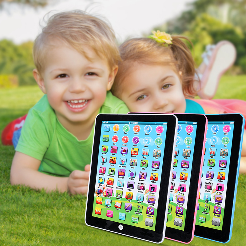 Baby Tablet Early Educational Toy For 1-6 Year Old Toddler Boys Girls Kids Gift