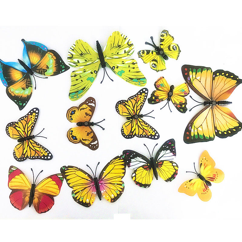 3d Butterfly Stickers For Walls - gigadubai.com -