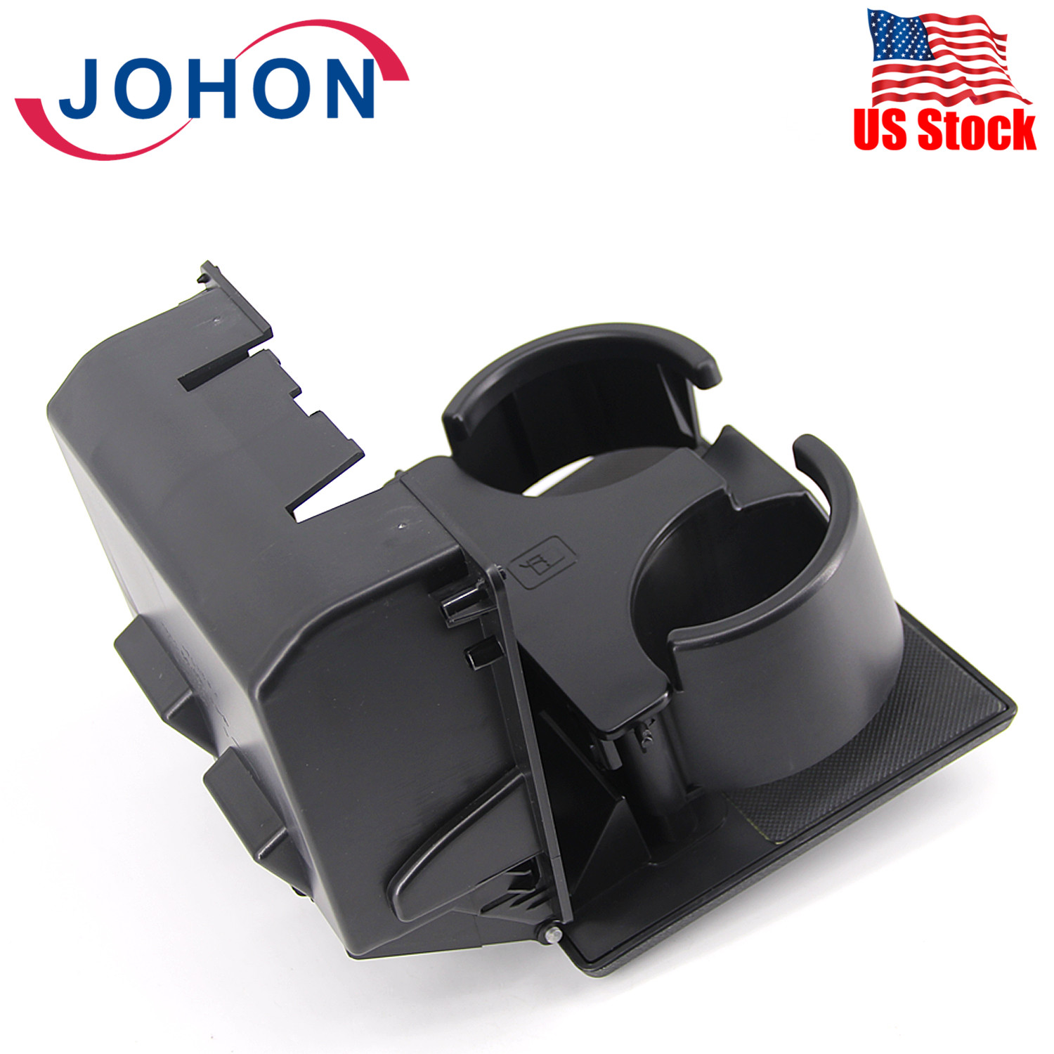 Acouto Car Cup Holder,ABS Dashboard Panel Foldable Cup Holder Stand Fit for F-250//F-350//F-450,8C3Z2513562AF