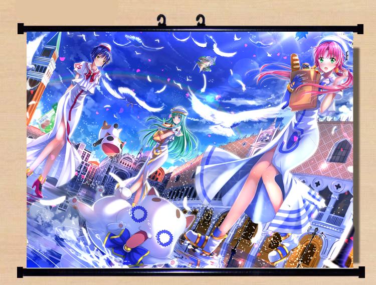 Kemurikusa ritsu Anime HD ART Wall Poster Scroll Home Decor Otaku Gift 60X90CM