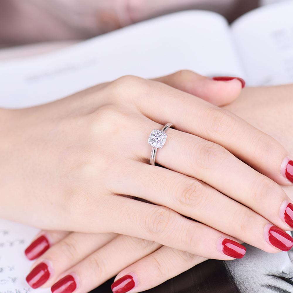 New Design Forever Love 18Kt White Gold Natural Diamond Wedding ...